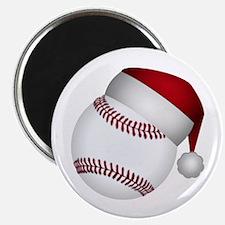 Christmas Baseball Magnets
