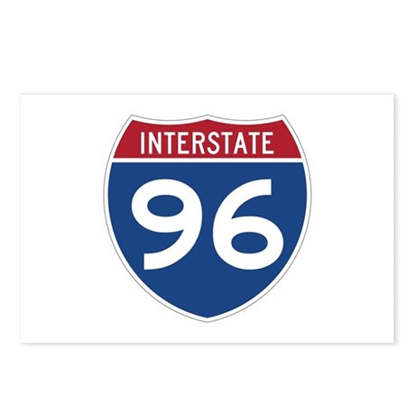 Interstate 96 Postcards (Package of 8)