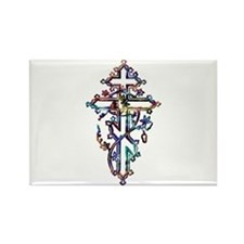 Cute Church holy cross Rectangle Magnet (10 pack)