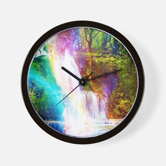 Cute Waterfall Wall Clock