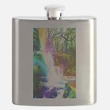 Cool Rainbows Flask