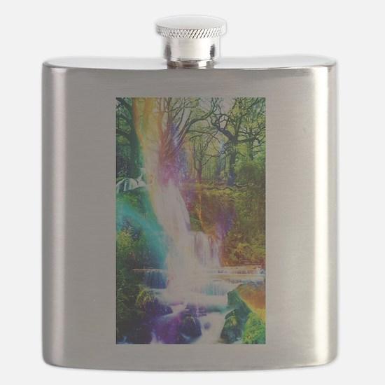 Cute Waterfall Flask