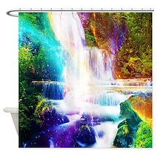 Cute Water fall Shower Curtain