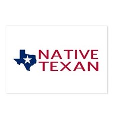Native Texan Postcards (Package of 8)