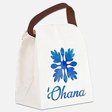 Cute Hawaiian islands Canvas Lunch Bag