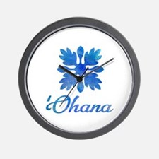 Unique Hawaiian quilt Wall Clock