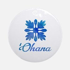 Cute Aloha Round Ornament
