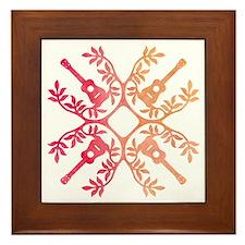 Unique Ukulele Framed Tile