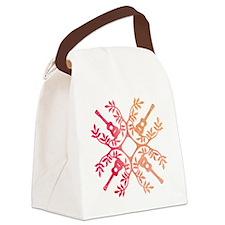 Cute Ukulele Canvas Lunch Bag
