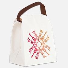 Funny Hawaiian islands Canvas Lunch Bag