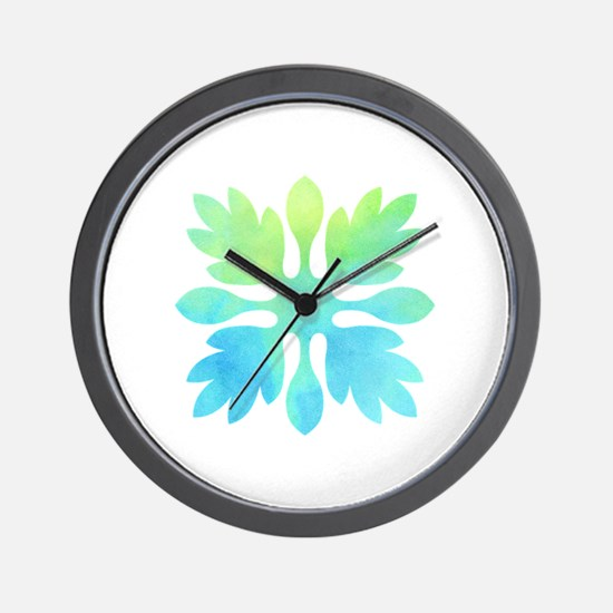 Cute Tropical Wall Clock