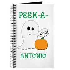 Antonio Halloween Peek-A-Boo Journal