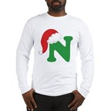 Christmas alphabet Long Sleeve T-shirts