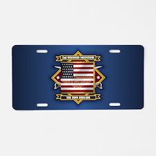 2nd Wisconsin Volunteers Aluminum License Plate
