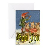 Swedish christmas Greeting Cards (20 Pack)