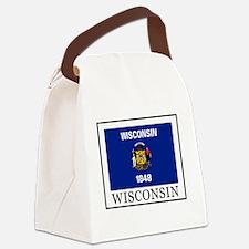 Unique West allis Canvas Lunch Bag