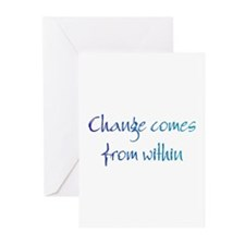 Change Comes Greeting Cards (Pk of 10)