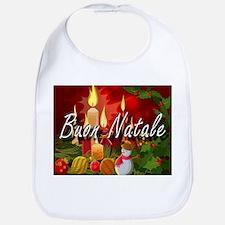 Merry Christmas-Buon Natale Bib