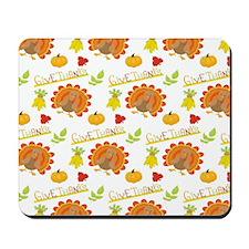 Thanksgiving Turkeys Mousepad