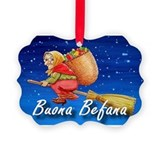 Befana Picture Frame Ornaments
