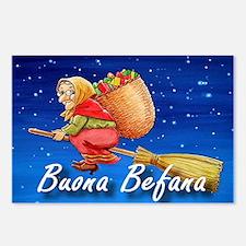 Buona Befana Postcards (Package of 8)