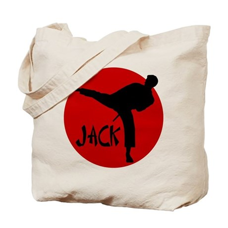Jack Martial Arts Tote Bag