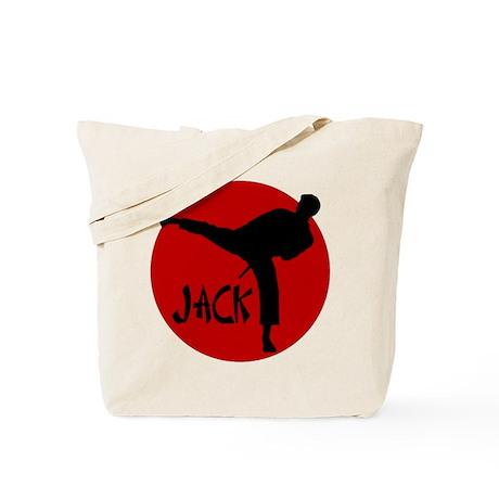 Jack Martial Arts Tote Bag