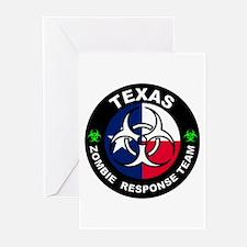 Texas ZRT White Greeting Cards