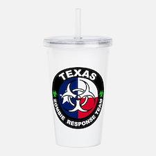 Texas ZRT White Acrylic Double-wall Tumbler