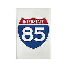 Interstate 85 Rectangle Magnet
