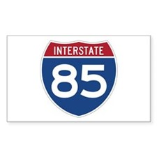 Interstate 85 Rectangle Decal