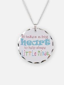 big heart: teacher, Necklace