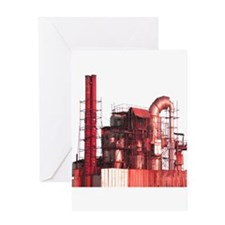 SteamFactory2 Greeting Cards