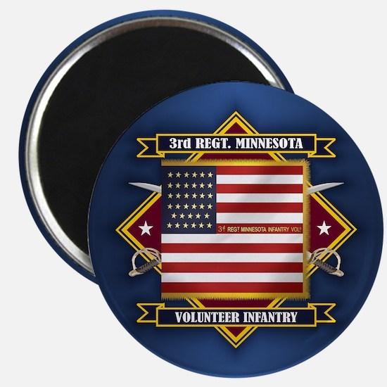3rd Minnesota Infantry Magnets