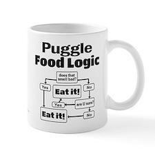 Puggle Food Mug