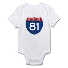 Interstate 81 Infant Bodysuit