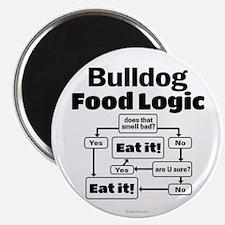 Bulldog Food Magnet