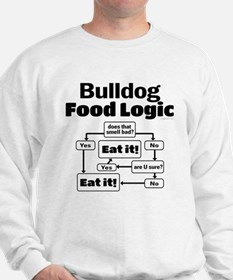 Bulldog Food Sweatshirt