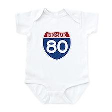 Interstate 80 Infant Bodysuit