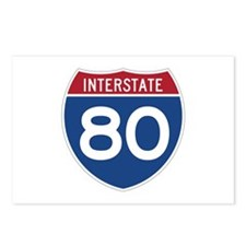 Interstate 80 Postcards (Package of 8)