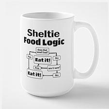 Sheltie Food Mug