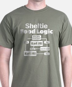 Sheltie Food T-Shirt