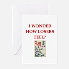 mahjong Greeting Cards