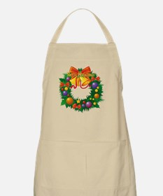 Christmas Wreath Apron