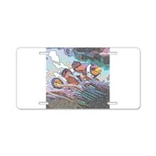 Clownfish20151009 Aluminum License Plate