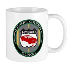 Living Green Hybrid Illinois Mug