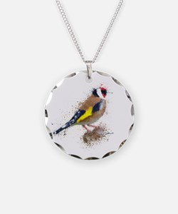 Gold Finch Necklace