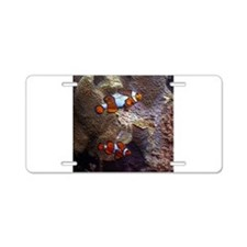ClownFish20151002 Aluminum License Plate