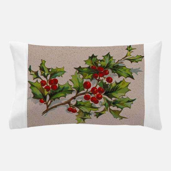 HollyBerries20151105 Pillow Case