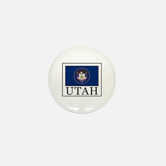 Unique Logan utah Mini Button